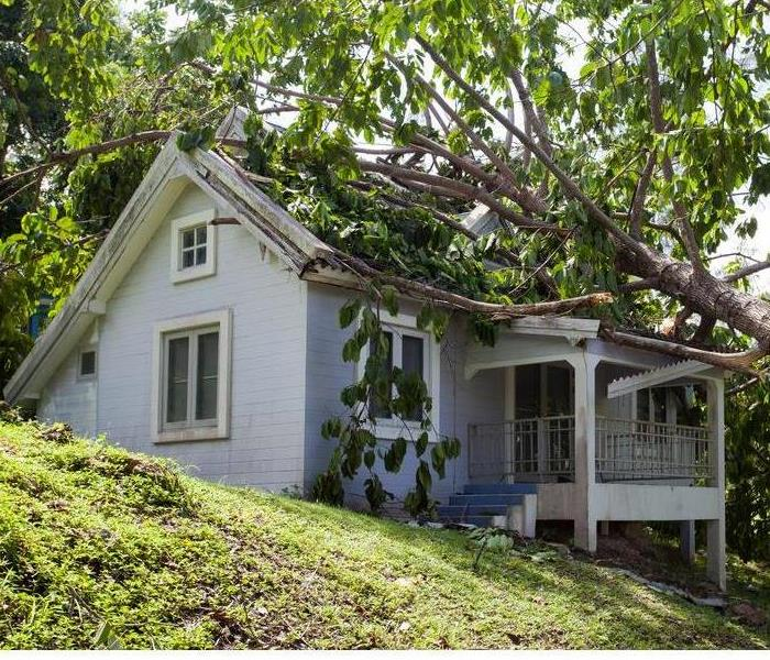 Storm Damage Cold weather storms can cause damages to your home